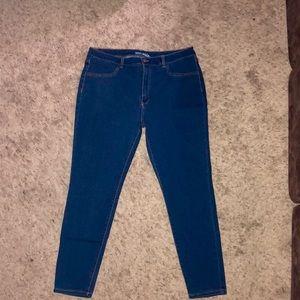 High Rise Skinny Jeans - Dark Wash *LIKE NEW*